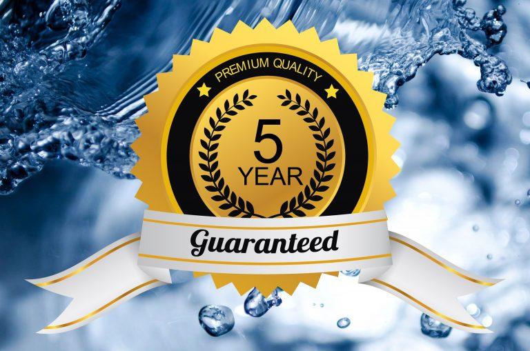 5års garanti